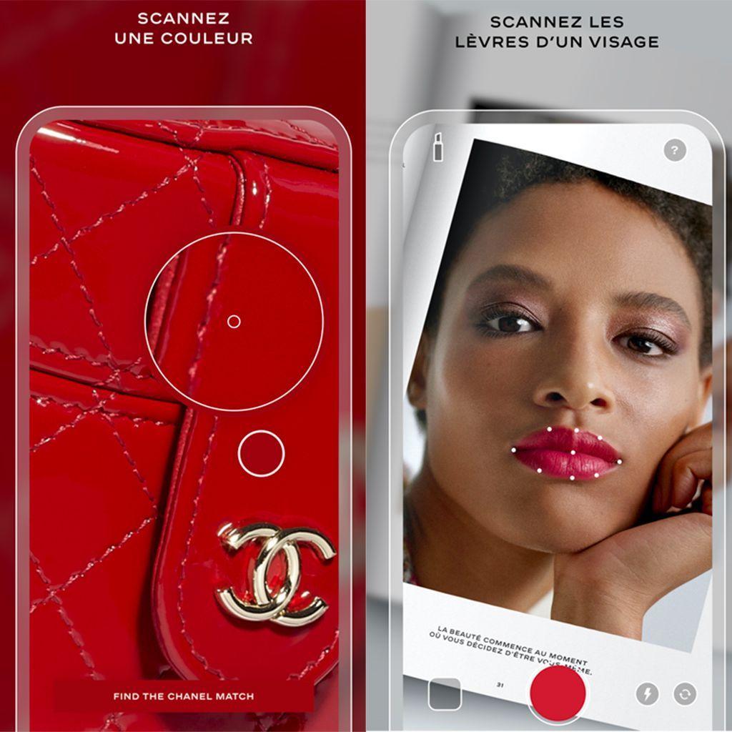 Chanel запускает революционное приложение для макияжа