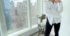 Белый верх + черный низ: новый образ Эмили Дидонато