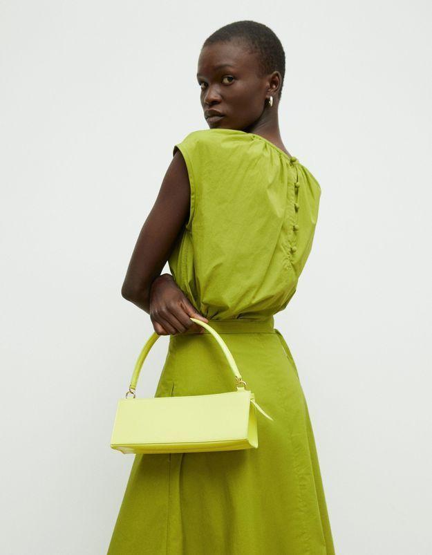 Момент моды: лимонная сумка Mansur Gavriel