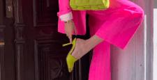 Как носить розовый этой весной?