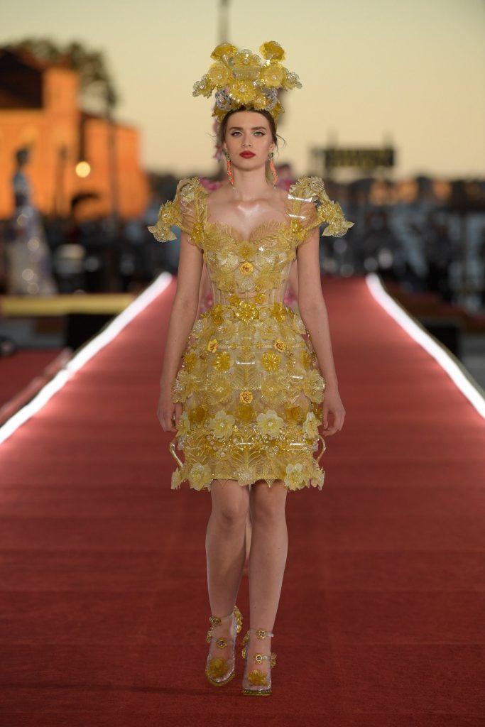 Грандиозный показ Dolce & Gabbana Alta Moda