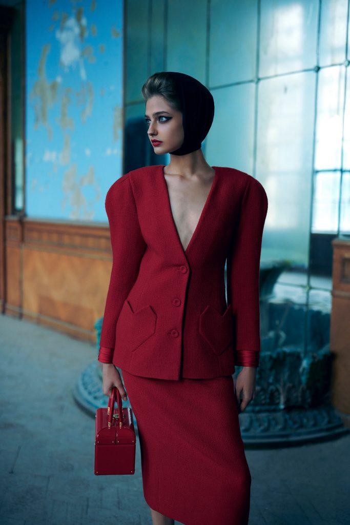 Слияние эпох в новой коллекции Ulyana Sergeenko Demi-Couture осень-зима 2021/2022