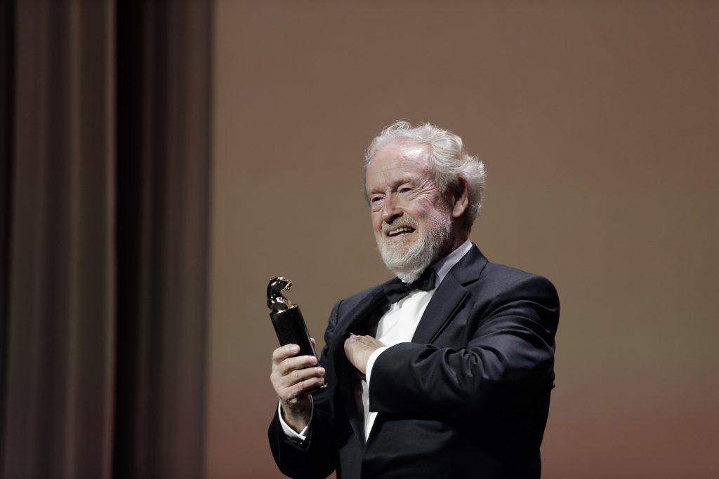 Режиссер Ридли Скотт получил премию Cartier Glory to the Filmmaker